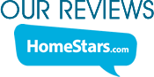 Homestars independant rating reviews